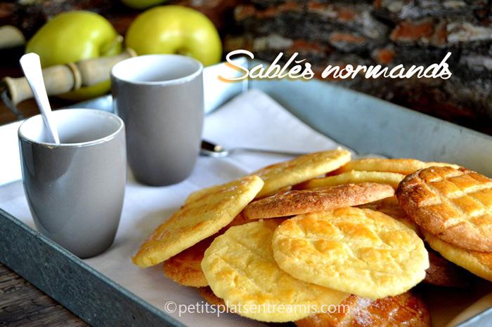 Sabl s normands petits plats entre amis for Plat entre amis facile