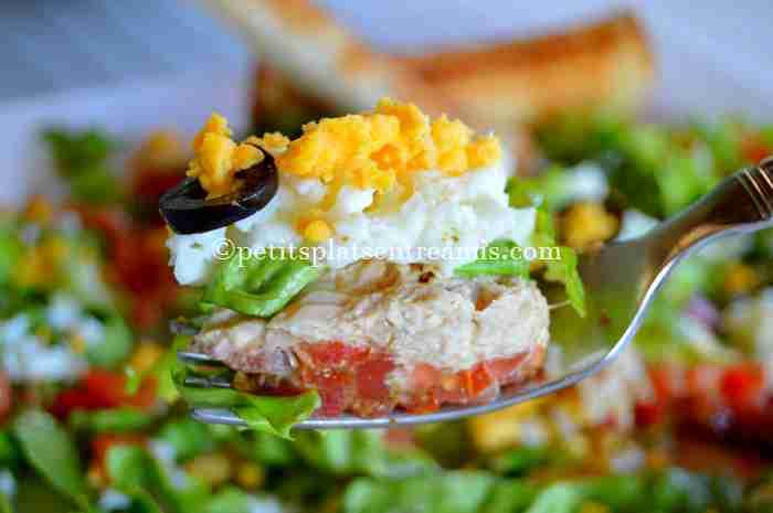 bouchée de salade-de-thon