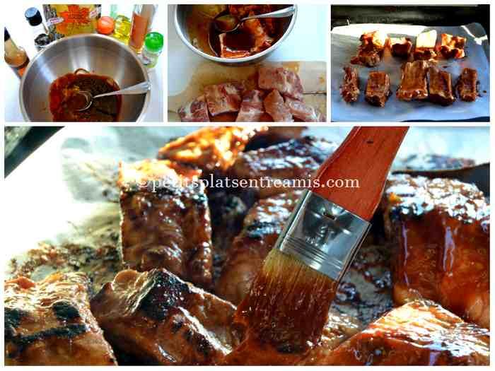 cuisson ribs à la plancha