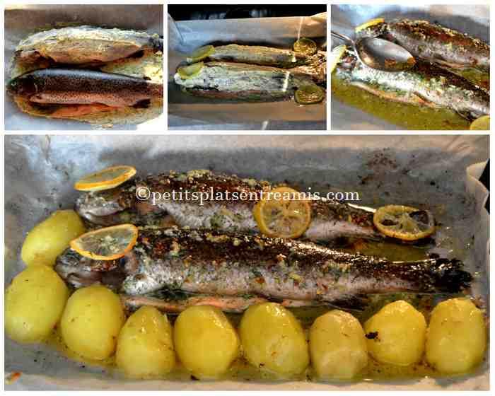 cuisson truite saumonée