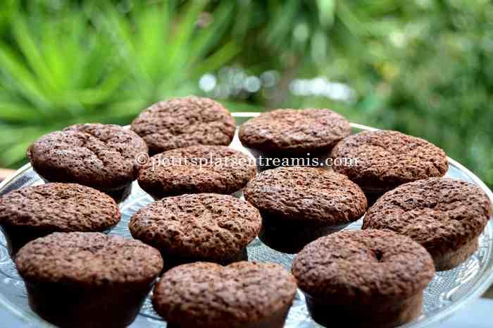petits-gâteaux-au-nutella recette