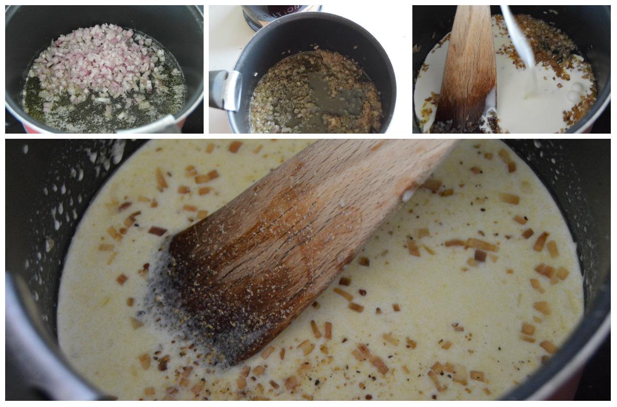 préparation sauce aux échalotes et armagnac