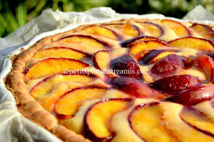 recette tarte-aux-nectarines