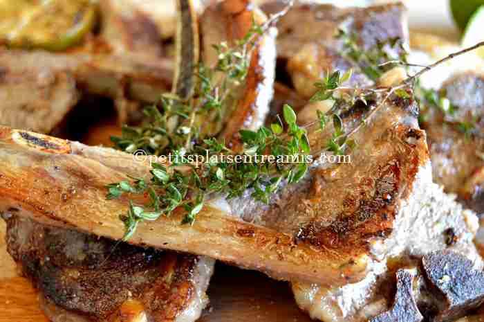 dégustation côtelettes-d'agneau-à-la-plancha