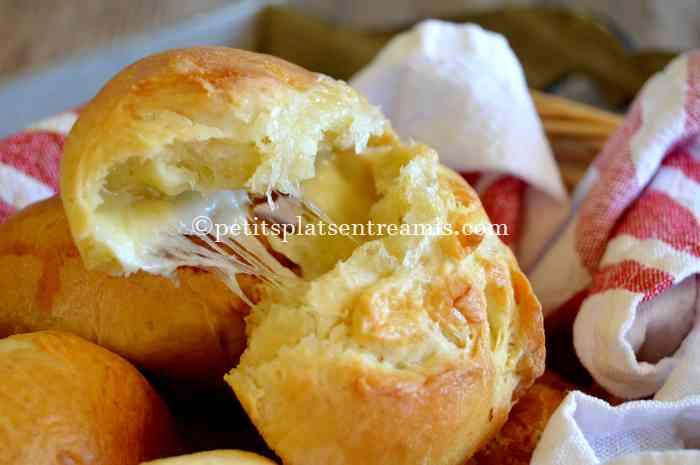 dégustation petits pains au morbier