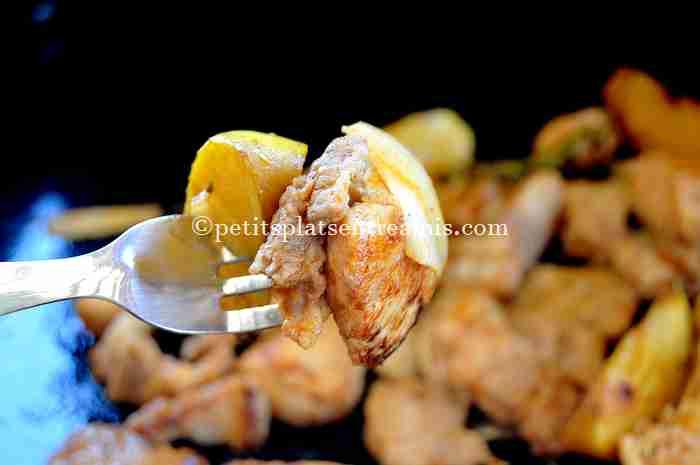 dégustation sauté-de-poulet-à-la-plancha