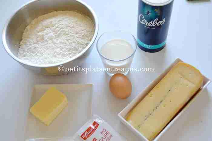 ingrédients petits-pains-au-morbier