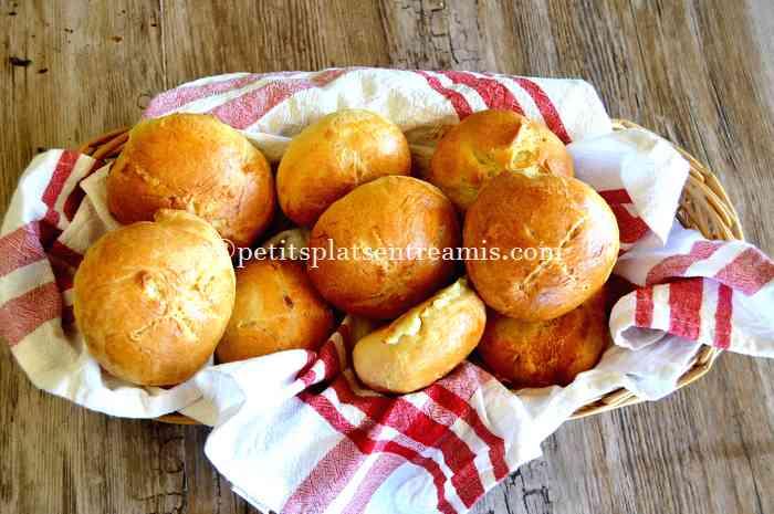 petits pains au morbier recette