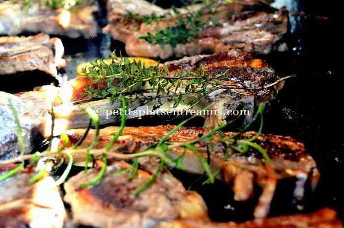recette des côtelettes-d'agneau-à-la-plancha