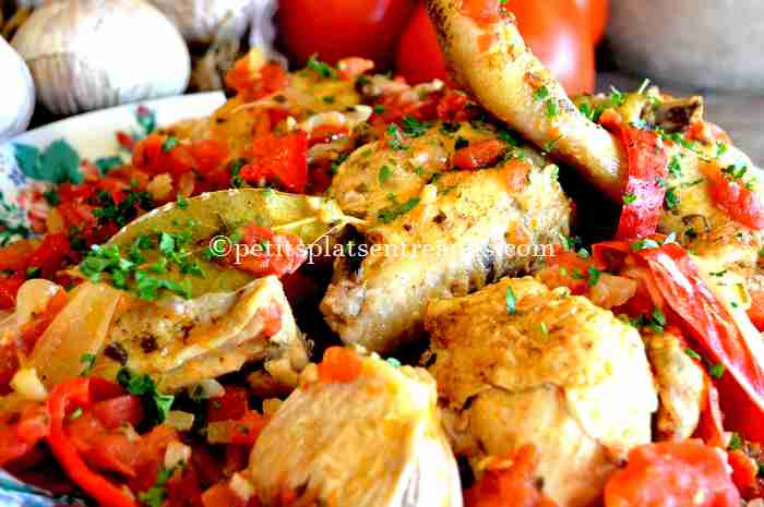 recette poulet-basquaise