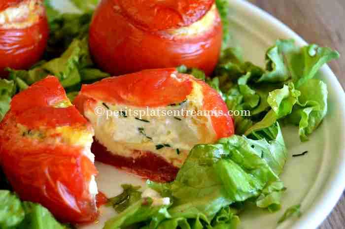 recette tomates-farcies-au-chèvre