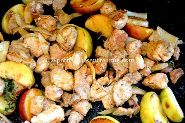 sauté-de-poulet-à-la-plancha recette