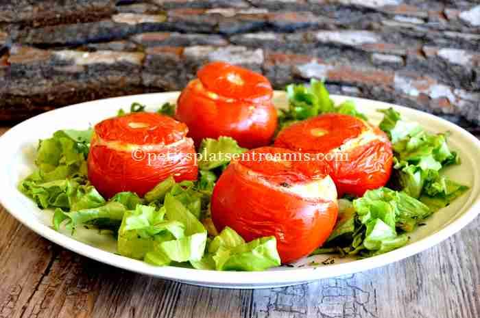 tomates-farcies-au-chèvre recette