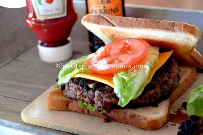 Steak haché façon hamburger recette