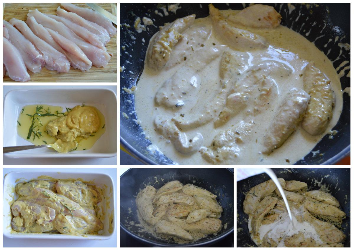 cuisson-aiguillettes-de-poulet-a-la-moutarde