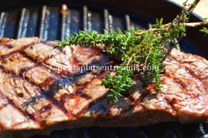 recette-faux-filet-grille-au-thym
