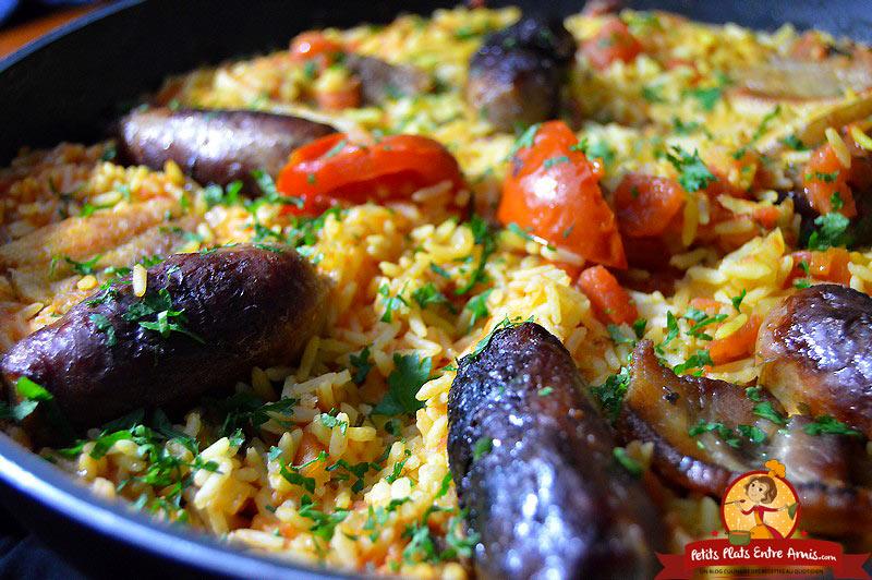 recette-du-riz-a-la-tomate-et-aux-saucisses