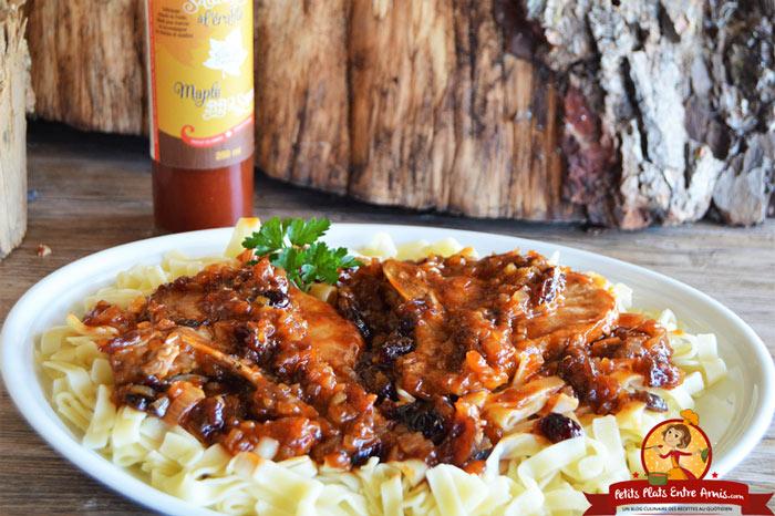 cotes-de-porc-sauce-barbecue-a-lerable-recette