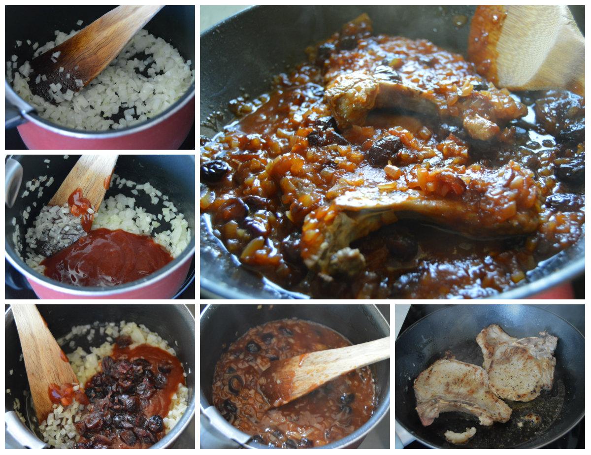 cuisson-cotes-de-porc-sauce-barbecue-a-lerable