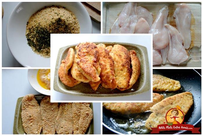 cuisson-des-escalopes-de-poulet-panees