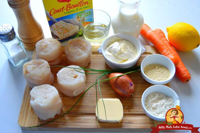 ingredients-des-medaillons-de-soles-a-la-creme-en-tant-quobjet-dynamique-1