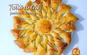 Ap ritif petits plats entre amis - Tarte soleil jambon cru ...