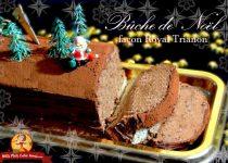 Bûche de Noël façon Royal Trianon