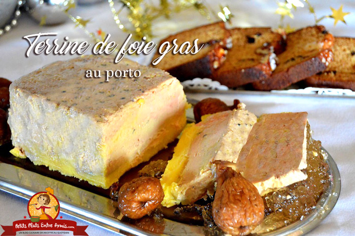 Terrine de foie gras au porto petits plats entre amis - Cuisson foie gras en terrine ...