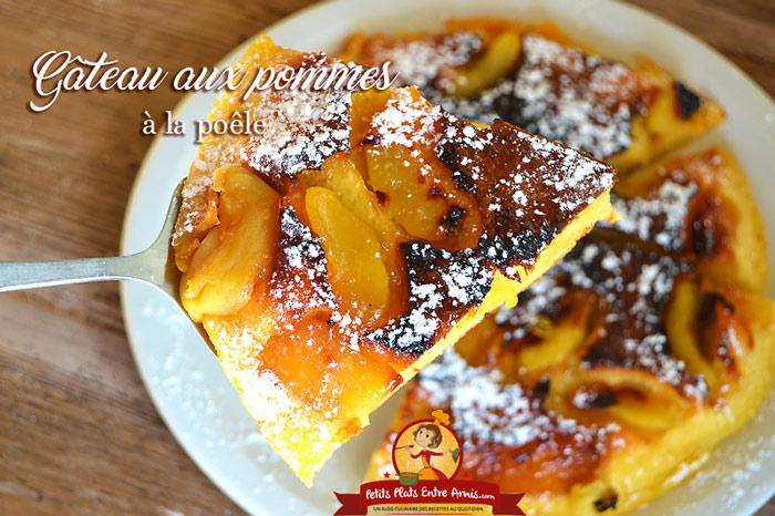 Amazing Gateau Au Pomme A La Poele #14: Gâteau Aux Pommes à La Poêle