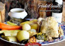 Poulet bouilli aux légumes d'hiver