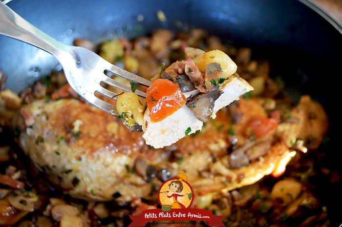 Recette de la cuisse de dinde la cocotte petits plats - Comment cuisiner une cuisse de sanglier ...