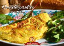 Omelette persillée aux échalotes