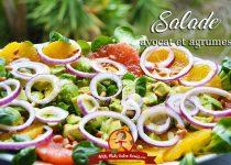 Salade d'avocat et agrumes