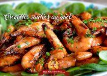 Crevettes sautées au miel