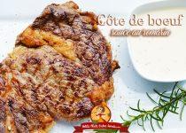 Côte de boeuf sauce au romarin