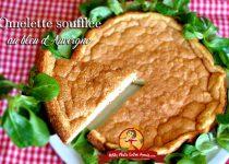 Omelette soufflée au bleu d'Auvergne