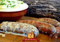 Andouillettes grillées sauce moutarde