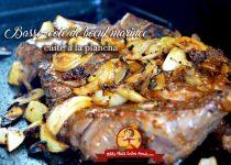 Basse c te de boeuf marin e cuite la plancha petits plats entre amis - Duree cuisson cote de boeuf ...