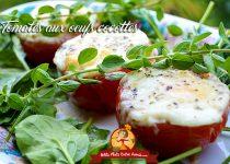 Tomates aux oeufs cocottes
