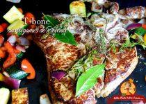 T-bone aux légumes de Provence