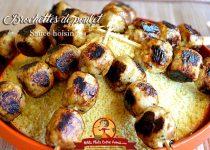 Brochettes de poulet sauce hoisin