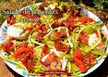 Salade de pissenlits à l'érable