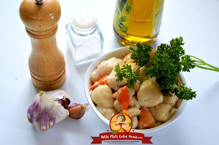 Cuisiner noix de st jacques fra ches - Cuisiner les noix de saint jacques ...