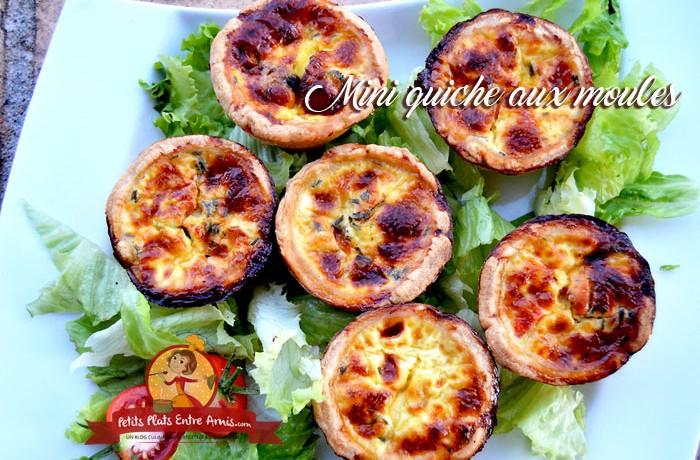Petits plats entre amis part 29 - Moule mini quiche ...