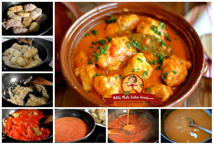 Recette lotte a l armoricaine avec bisque de homard un site culinaire populaire avec des - Lotte a l armoricaine recette cuisine ...