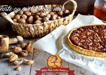 Tarte au miel et aux noix