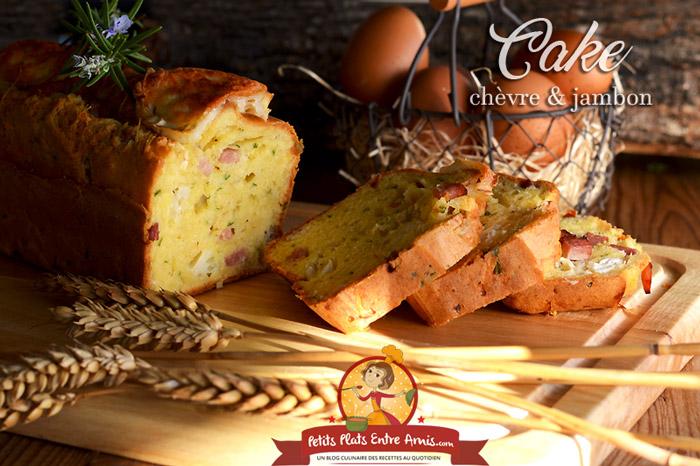 Recette Cake Jambon Emmental Olive Vin Blanc