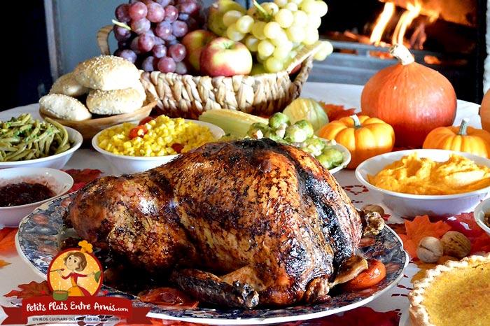 Dinde De Thanksgiving Petits Plats Entre Amis