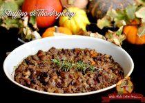 Recette de stuffing de Thanksgiving
