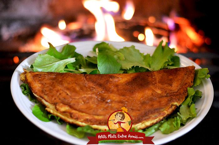 Omelette de la m re poulard petits plats entre amis - Recette omelette mere poulard ...